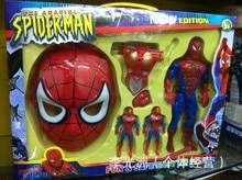 2017 Популярные мультфильм игрушки внеочередное паук маска броня Человек-Паук фигурку игрушки человек-Паук рука сделать Реалити-шоу реквизит