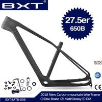 2018 Новый BXT t800 ud mtb карбоновая рама 27.5er 650b mtb карбоновая рама 27,5 углерода горного велосипеда 142*12 или 135*9 мм велосипед