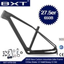 2018 New BXT t800 ud mtb carbon frame 27 5er 650b mtb carbon frame 27 5