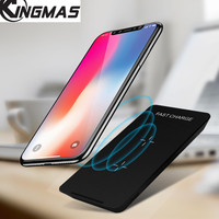 KINGMAS Quick Wireless Charger For IPhone X 8 Samsung S8 S9 S9 Note 8 Fast Qi