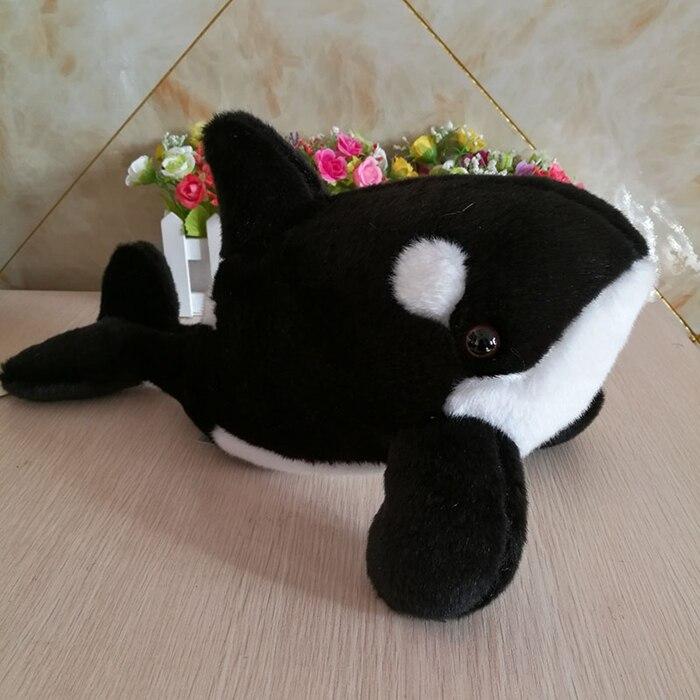 Doux et lisse enfants jouets en peluche épaulard poupée en peluche Animal jouet cadeaux d'anniversaire de haute qualité