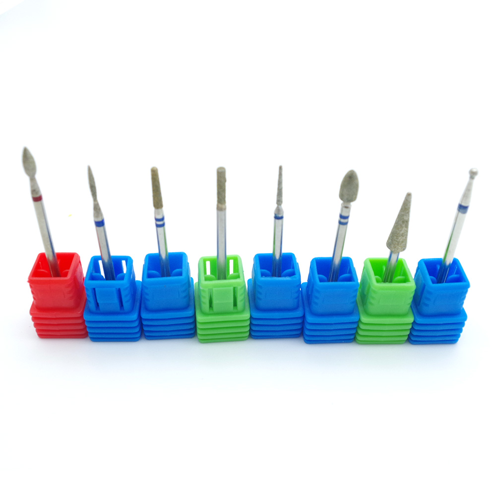Aliexpress.com : Buy Lot 8 Type Diamond Nail File Drill