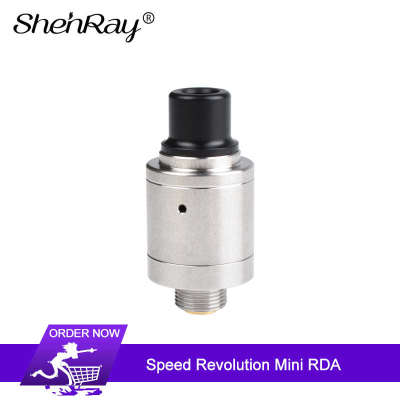 Shenray Speed Revolution RDA Tank 14mm Single Coil Atomizer Side Airflow Holes & BF Squonk Pin Vape Tank Electronic Cigarette