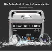 Professional Portable Digital Ultrasonic Cleaner 0.8L 35W Ultrasound Washing Cleaning Machine Bath For Jewelry Eyeglasses Watch