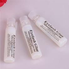 hot sell 2ml Portable Waterproof wihte False Eyelash Glue Adhesive Makeup Tools