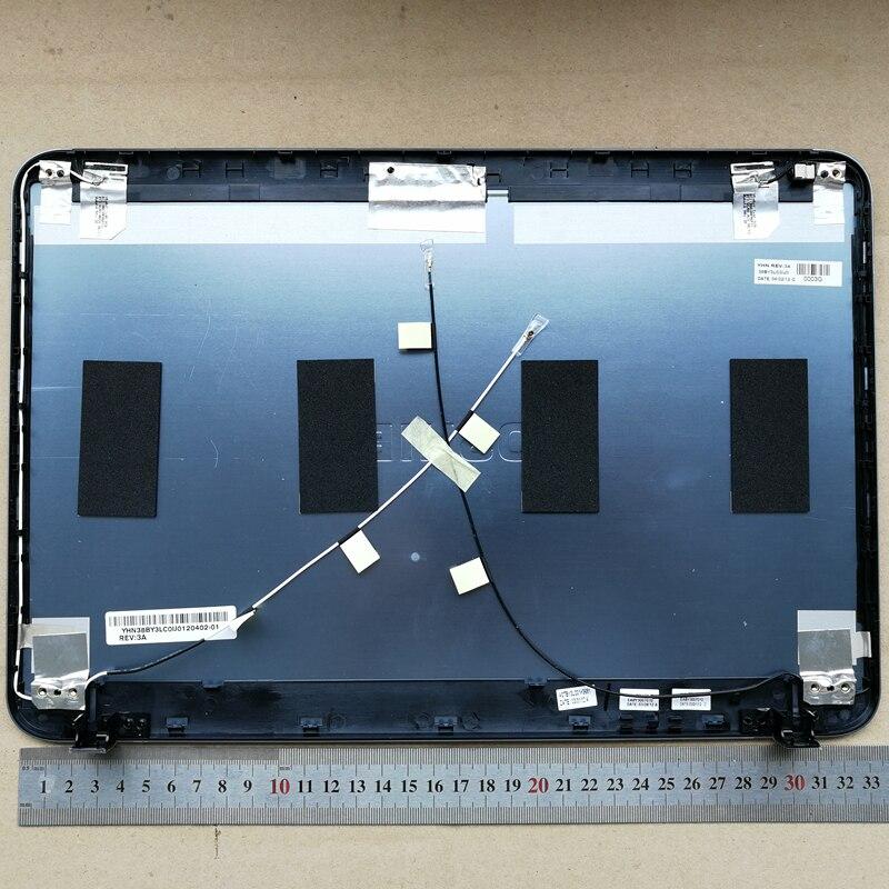 Новый ноутбук верхней крышке ЖК задняя крышка для Toshiba Satellite L800 L840 L845 38BY3LC0IJ0 синий металлический материал
