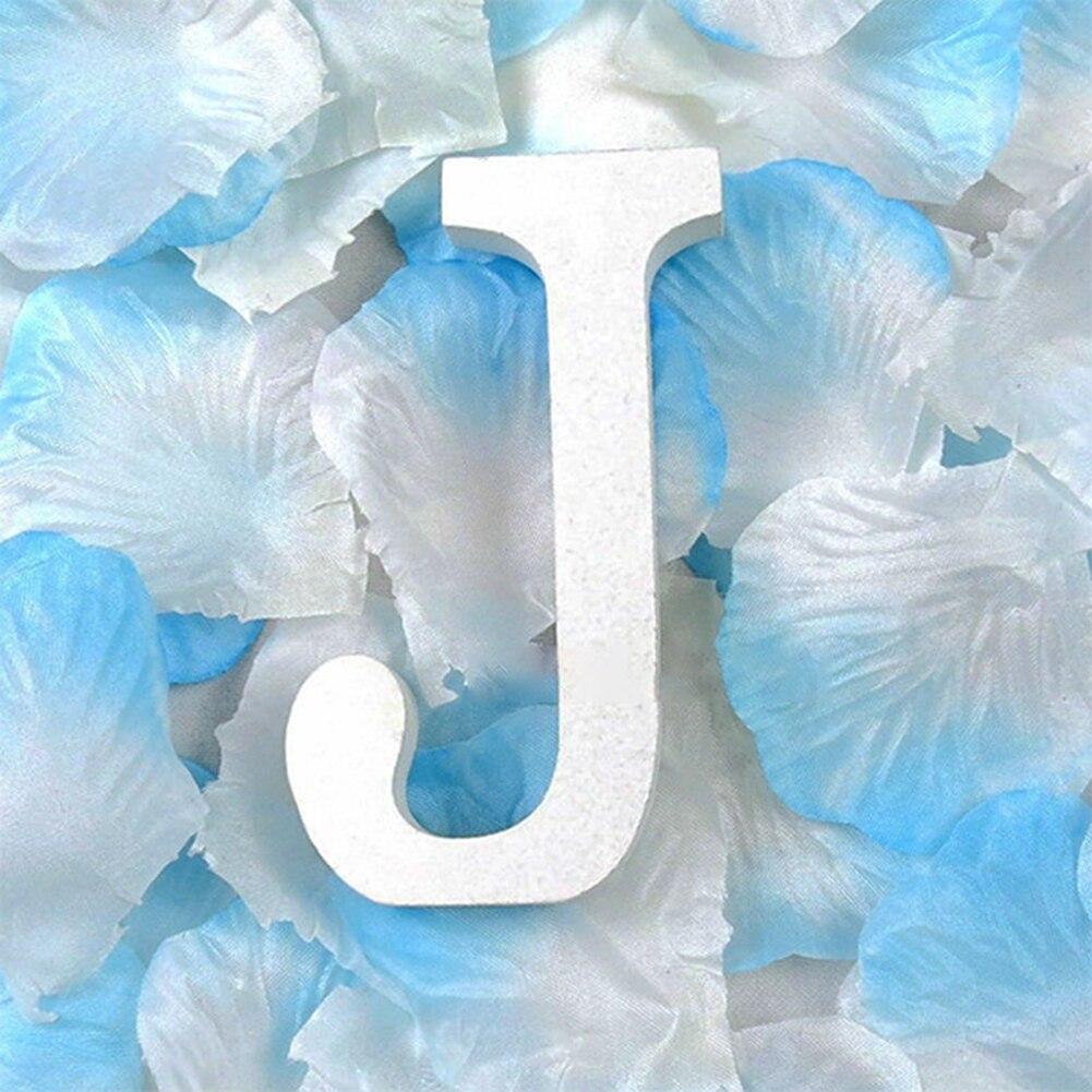 3D деревянные буквы letras decorativas персонализированное Имя Дизайн Искусство ремесло деревянные украшения letras de madera houten буквы - Цвет: J
