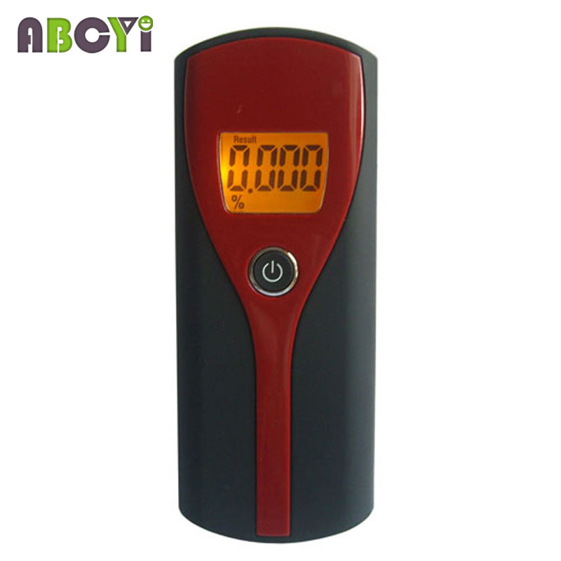 10pcs Professional Digital Alcohol Breath Tester Breathalyzer Alcohol Meter Analyzer Detector with Strap & LCD Backlight Displ