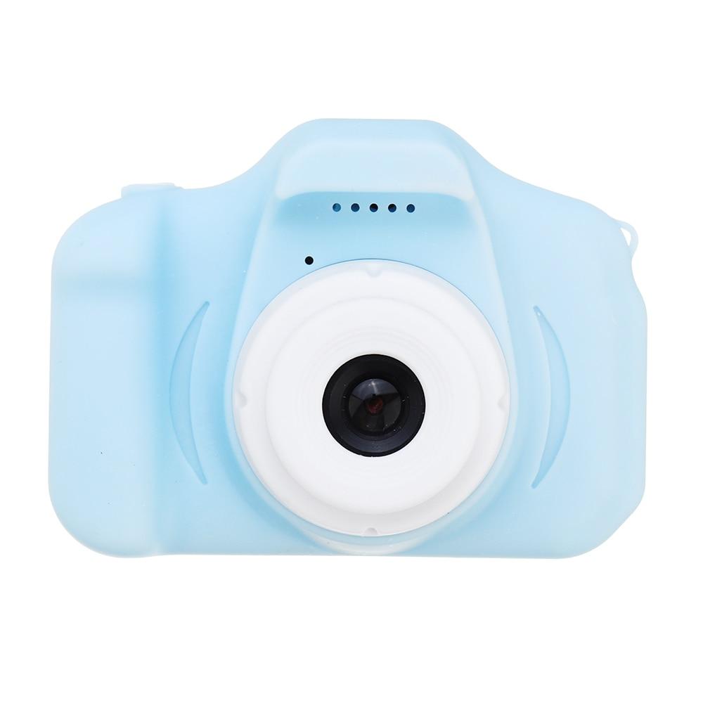 X2 2MP 1080P HD Cartoon Kids Camera 2.0 Inch Screen Rechargeable Mini Children Kids Camera Multi-Language Filter Effects Max 32G