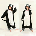 New Costumes Cartoon Animal Pajamas Black Cat Onesies Pyjamas Halloween Cosplay Costumes for Women Men Adult Fleece Sleepwear