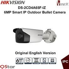Hikvision Original English Version DS-2CD4A65F-IZ 6MP Smart IP Outdoor Bullet Camera Support 64G storage POE CCTV Camera