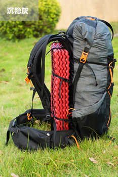 Outdoor Sports Camping Hiking Backpack Ultralight Water-resistant Mountaineering Rucksacks Frameless Packs 40L+16L 900g
