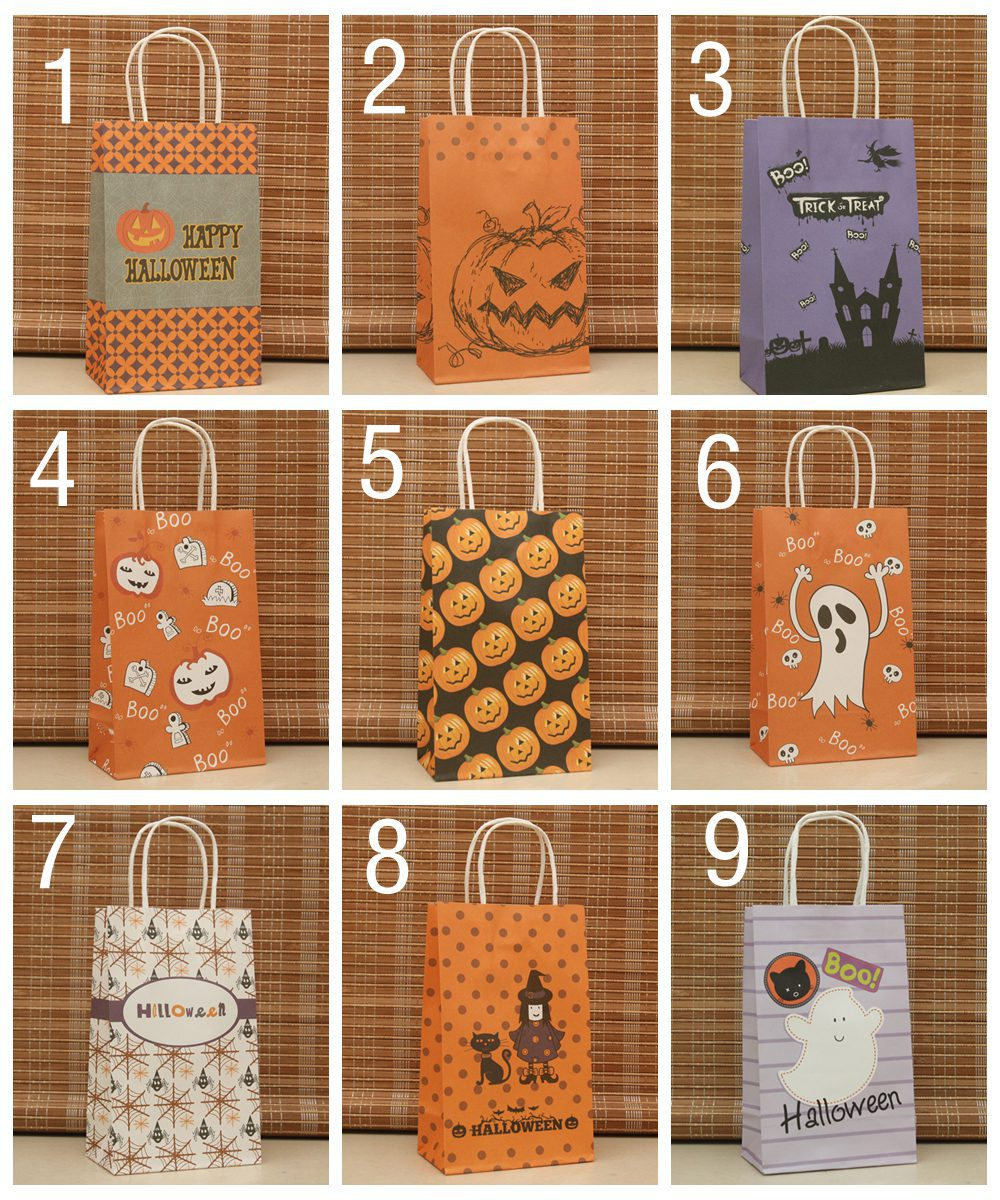 Paper Gift Bags Wholesale Us 500 Wholesale Halloween Paper Gift Bags Gift Packaging For Party Halloween Party Packaging Pouch In Stockings Gift Holders From Home Garden