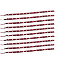 ZYHW Brand DC 12V 30cm 15 SMD LED Flexible Waterproof Trunk Car LED Strip Light Red 10pcs