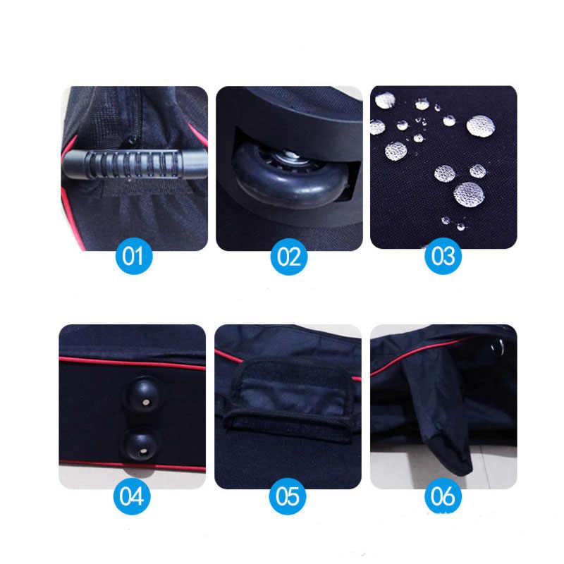 Nieuwe Stijl Zwart Wiel Zakken Voor Xiaomi M365 Scooter Elektrische Scooter Zakken
