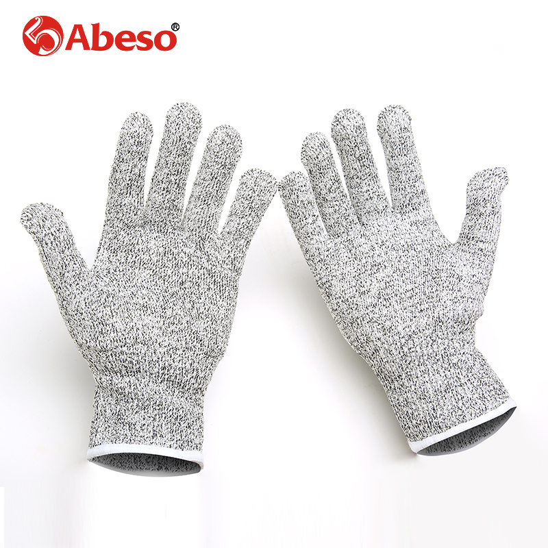 High strength Polyethylene material Wire Safety Work Anti-Slash Cut Static Resistance Wear-resisting Protect Gloves Hand Safely pair of safety adjustable high impact resistance outdoor kneepad