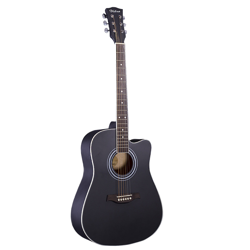41inch Black Acoustic Guitar Closed Knob Violao Wood Guitar Guitar Musical Instrument Acoustic Guitarra 230-BK цены