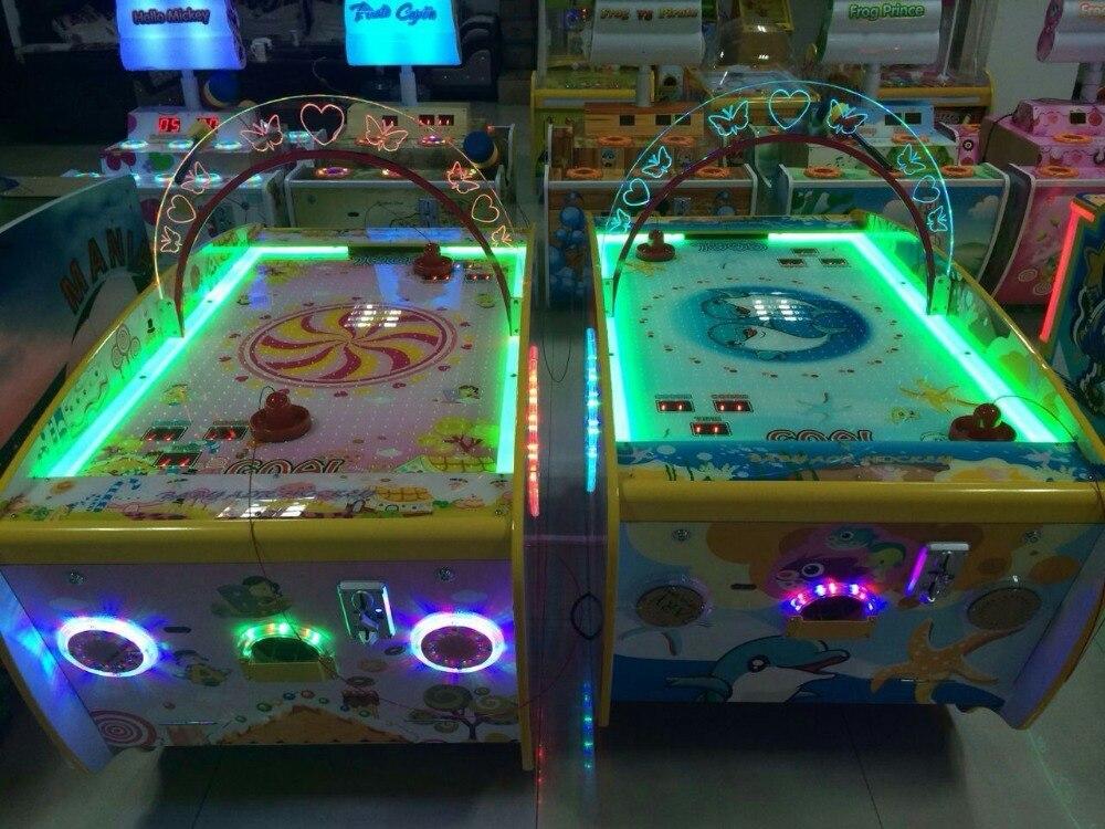 Baby air hockey/jeux de rachat de billets à pièces pour centre de jeu