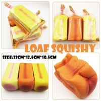 Squishy Slow Rising Jumbo Scented Toast Loaf Squishy With Nice Package Kawaii Squishies Toys