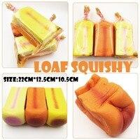 Squishy Toast Loaf Trage Stijgende Jumbo Scented Kawaii Squishies Voedsel Speelgoed Voor Keuken Squishy Brood Broodje Zachte Stress Speelgoed