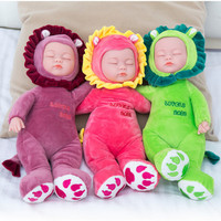 35CM High Dolls Baby Doll Reborn Doll Toy For Kids Appease Accompany Sleep Cute Vinyl Doll