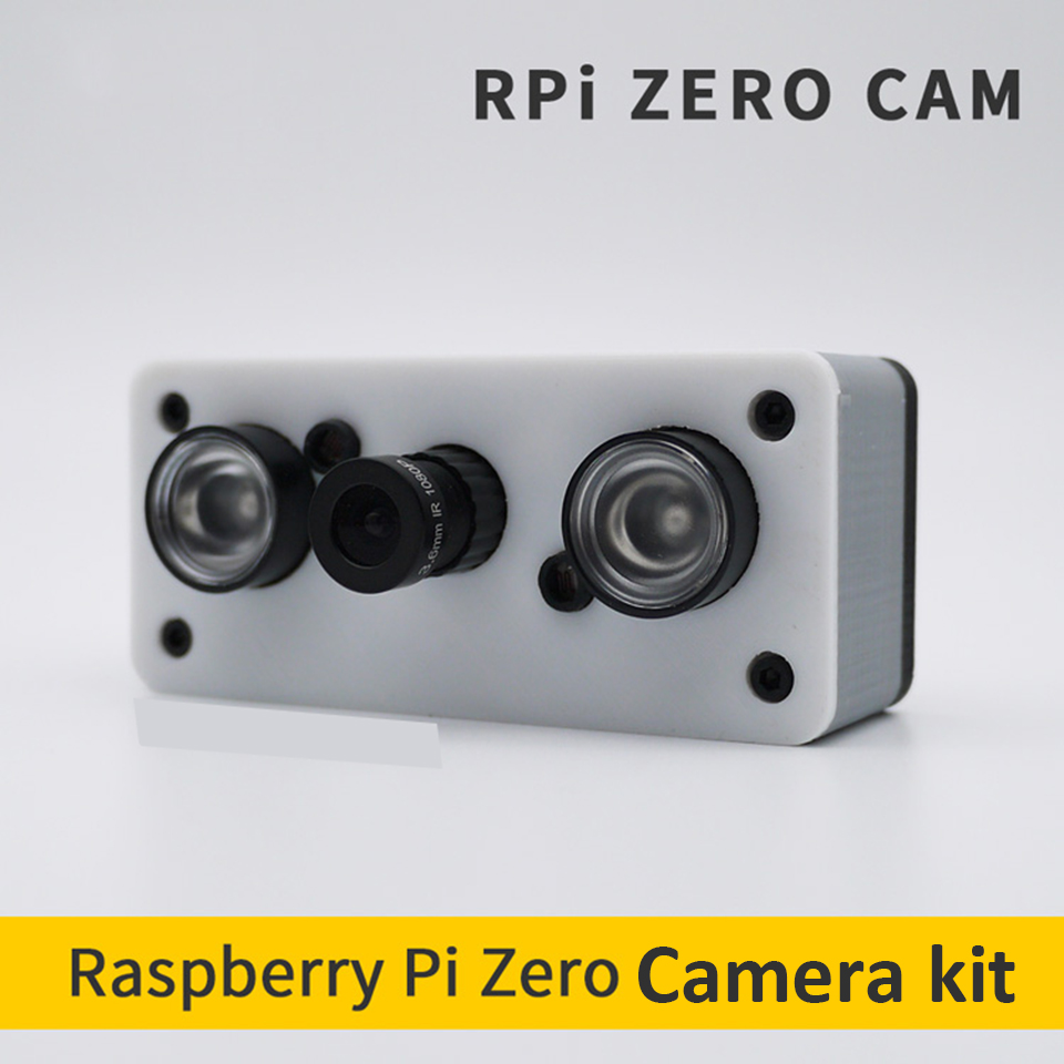 Raspberry Pi Zero Night Vision Camera Kit 3D Print Case for Raspberry Pi-in Replacement Parts & Accessories from Consumer Electronics