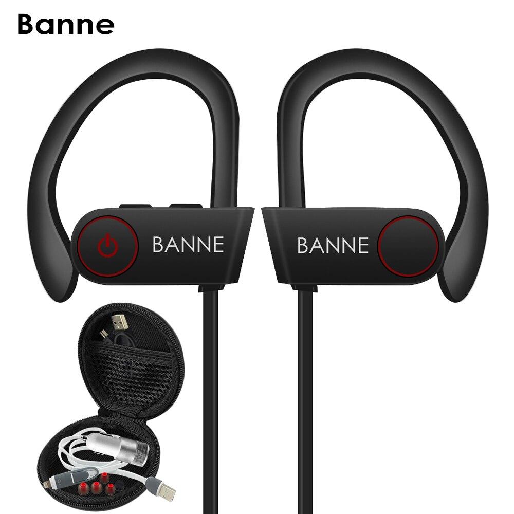 Wireless headphones bass boosted - wireless headphones lightweight sport earphone