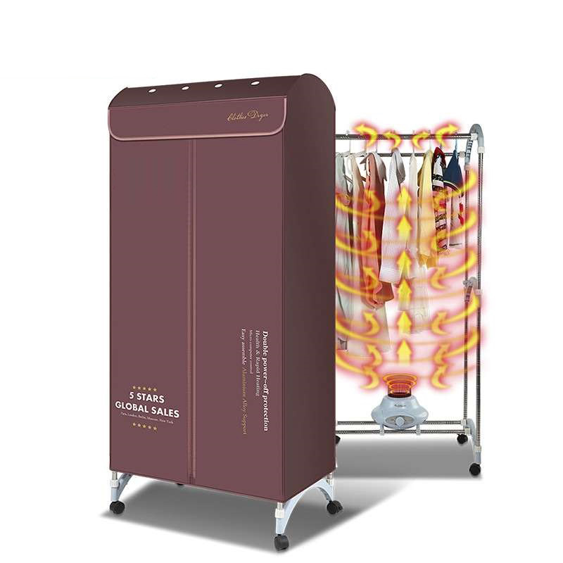 dryers double stainless steel clothes airer home efficient high-temperature sterilization disinfection clothes dryer