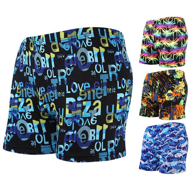 Cool Summer Men Swimwear Men's Swimsuits Surf Board Beach Wear Man Swimming Trunks Boxer Shorts Swim Suits Gay Pouch