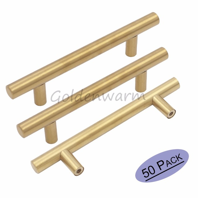 Aliexpress.com : Gold Schrank Griff Edelstahl Messing Schublade ...