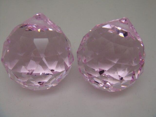Lampadario Gocce Rosa : Di alta qualità pz lotto sparkle rosa di colore millimetri di