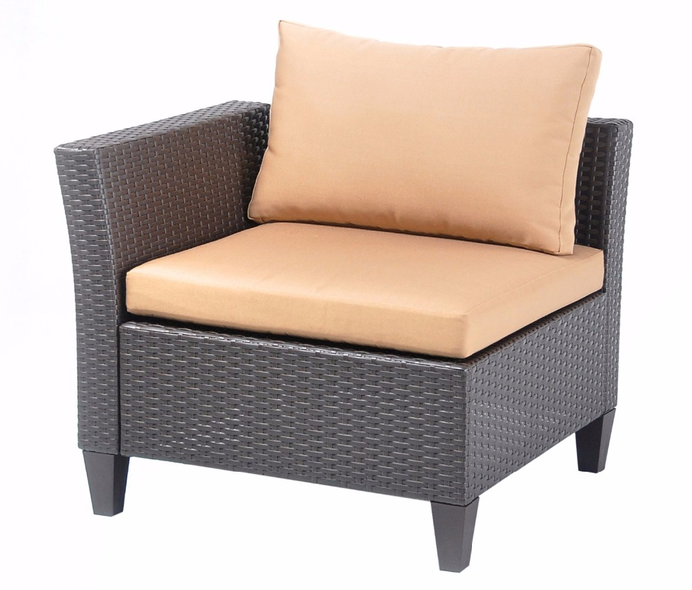 HLC Luxury Rattan Corner Group Sofa Set Sofa Suite gastrorag hlc 600