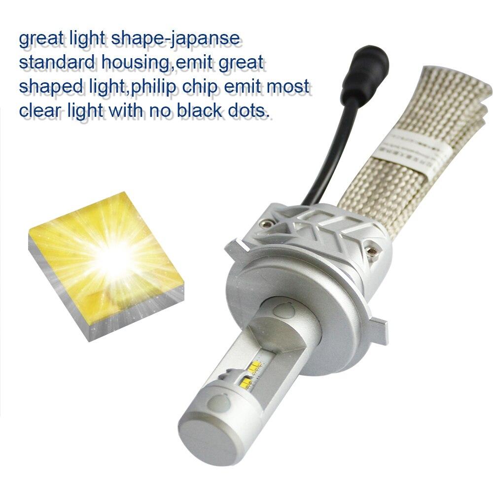 Inlong Met SAMSUNG CSP Mini H4 LED H7 12000LM H1 H11 Led Lamp H8 H9 9005 HB3 9006 HB4 Auto koplampen 6000K Mistlampen 12V - 3