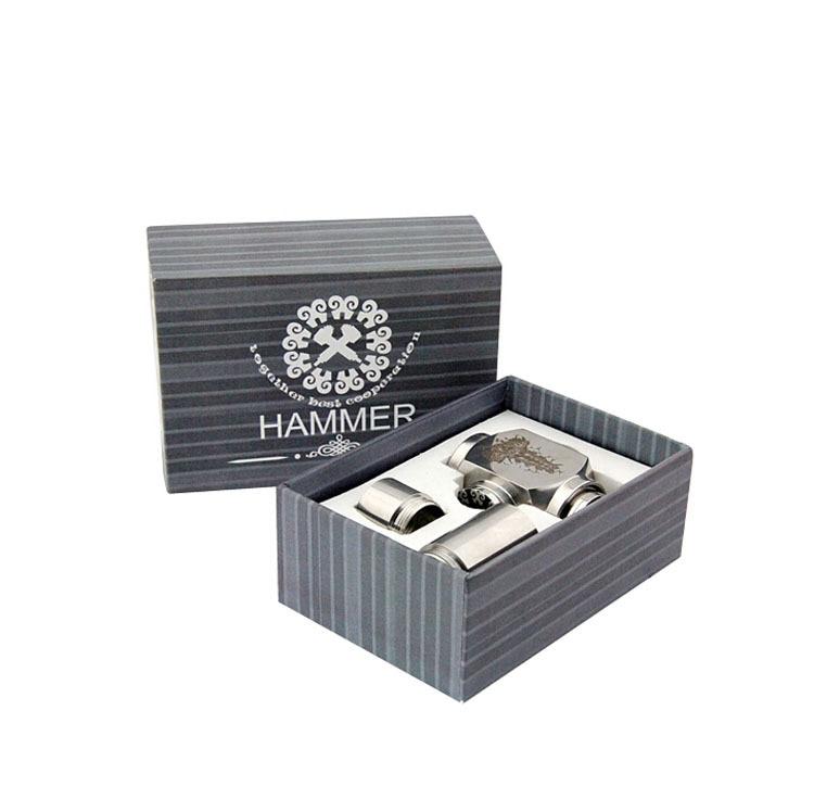 Hammer E Pipe Mod Mechanical E-Pipe ECigarette Stainless Steel E-pipe Electronic Cigarettes
