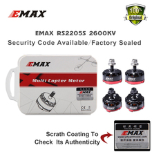 EMAX 4PC RS2205S 2600KV for FPV RACER Quadcopter Kvadrokopter RC Drone Aircraft