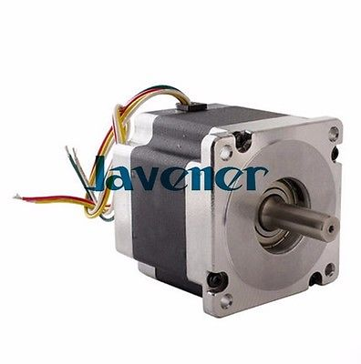 HSTM86 Stepping Motor DC Two-Phase Angle 1.8/6.2A/154mm/4 Wires/Single Shaft jhstm57 stepping motor dc 2 phase angle 1 8 3 2v 4 wires single shaft ratio 10