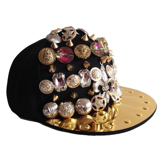 8cb5c1d87d De tampas homem de Hip hop grandes chapéus de diamante Cap dança Snapback  osso chapéu Masculino YY0243 em Bonés de beisebol de Sports & ...
