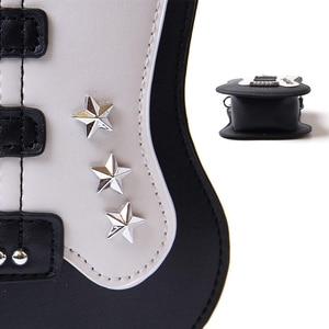 Image 5 - WomenS Piano Music Tote Bag Purse Cute Guitar Shape Crossbody Messenger Shoulder Bags, Guitar