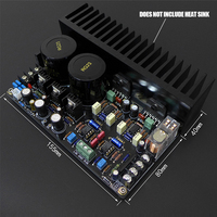 K. guss k-l68 LM3886 jrc5534dd OP07 Max Выход Мощность Усилители домашние доска 68 Вт + 68 Вт HiFi аудио Усилители домашние