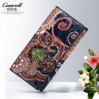Hardloop Women Holder For Money Ladies Leather Purse Evening Party Bag For Women Clip Wallet Vintage
