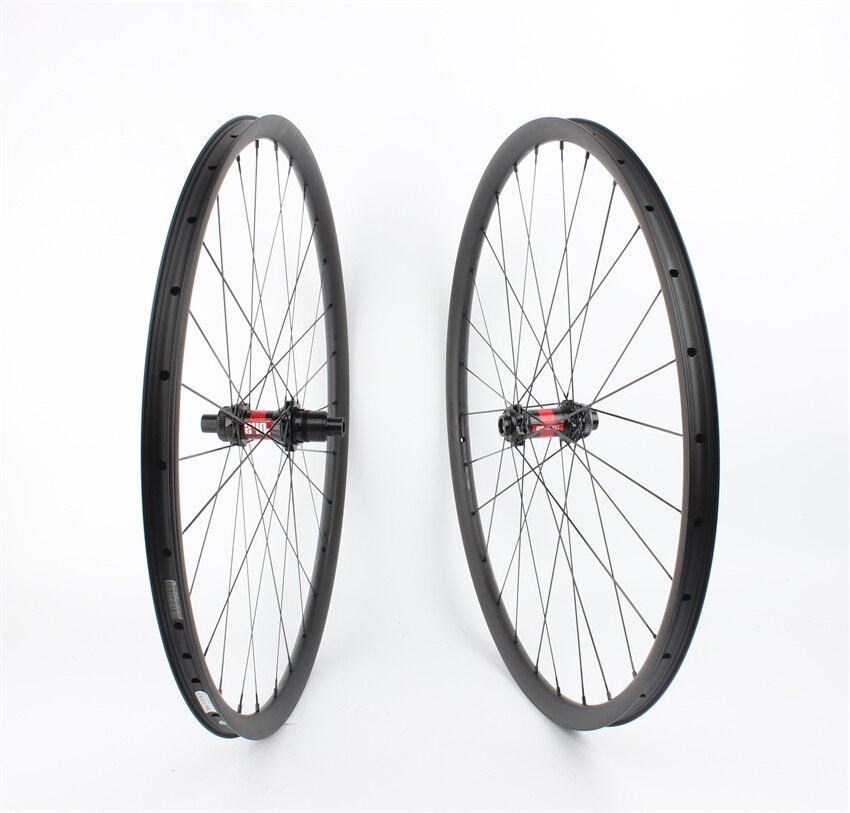 1225 г Farsports FS29T 30 22 DT240 Центральный замок 29 MTB велосипеда колеса углерода, через мост XC дисковый тормоз Горный велосипед колеса 29er