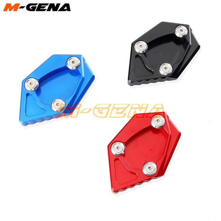 Motorcycle Kickstand Plate Side Stand Foot Pad Enlarge Extension Kick stand For For Kymco KXCT 300i XCITING 400 400i image