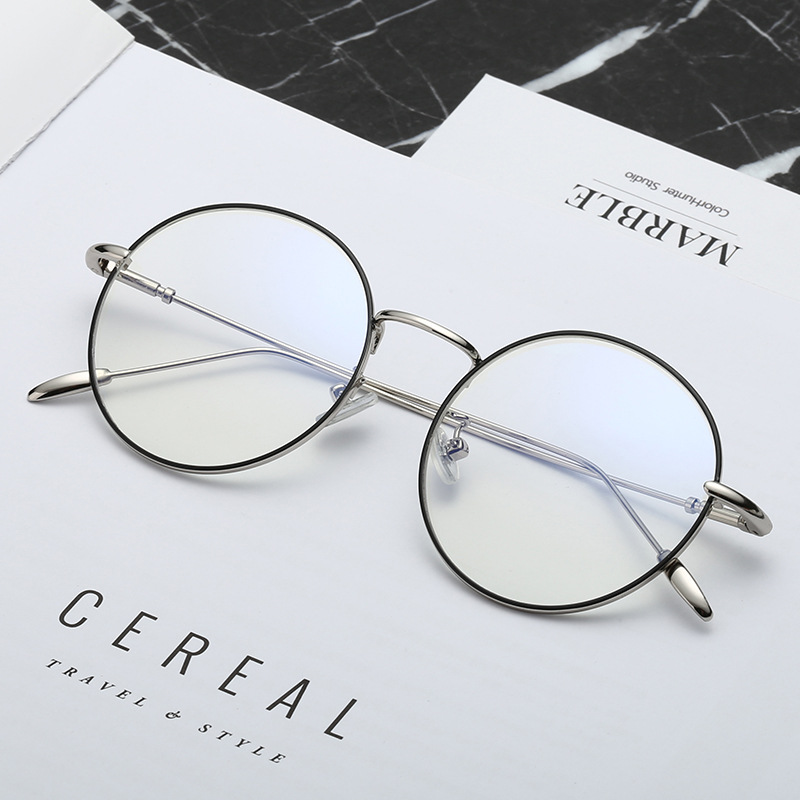 e11fd8efd6 Detail Feedback Questions about 2018 Round Eyeglasses Thin Metal  Transparent Clear Glasses Frame For Women Men Quality Eyewear Frames  Decoration with box ...