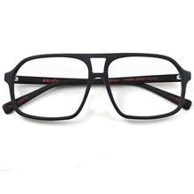 9ade88b60 المنتجات مربع Acetata كبيرة النظارات إطارات الخشب خمر النساء الرجال النظارات  البصرية واضح عدسة نظارات الأسود