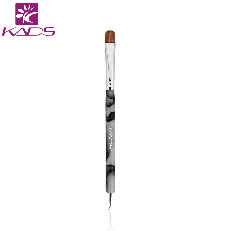 KADS 100% Kolinsky French Sable Brush 2 way Acrylic UV Gel Nail Art Builder Brush Pen Set nail art brush BEND nail dotting penKADS 100% Kolinsky French Sable Brush 2 way Acrylic UV Gel Nail Art Builder Brush Pen Set nail art brush BEND nail dotting pen