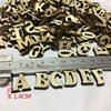 100 Pcs Rustic Wooden Letters Wedding Party Table Scatter Wood Decoration Crafts