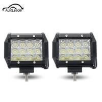 72 W 5 Inch LED Auto Dag Licht Spot Light Lamp Heldere licht Werk Montage voor Motorfiets Rijden Offroad Boot Auto Tractor Truck