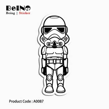 star war mask sticker battle fighting waterproof suitcase laptop guitar luggage skateboard bicycle toy lovely A0087 stickers Стикер