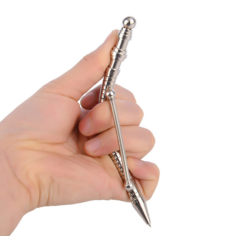 New Office Toys Bending Fidget Pen Metal Magnetic Pen Stress Reliever Finger Spiner Toy Fidget Hand Pen For Autism And ADHD
