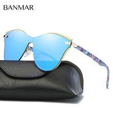BANMAR Mujeres UV400 Gafas de Sol Polarizadas Gafas de Conducción Gafas de Sol de Lujo Del Verano gafas De Sol Oculos Masculino Femenino BM0904